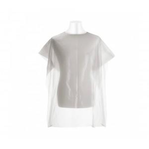 Mantellina monouso bianca 158998 da parruchiera uso professionale 90 x 110 cm