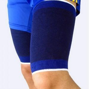 Fascia elastica per coscia unisex supporto tutore gamba ideale per sport e dolori muscolari