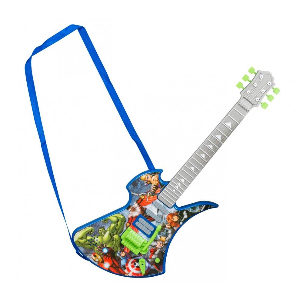 Chitarra Deluxe Avengers 308240 suoni preregistrati e corde in metallo SAMBRO