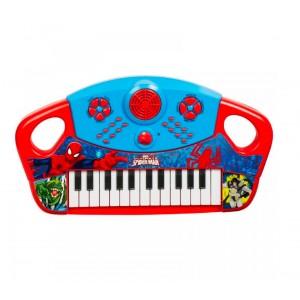 Tastiera 25 Tasti SPIDERMAN 308097 suoni programmabili e batteria elettronica