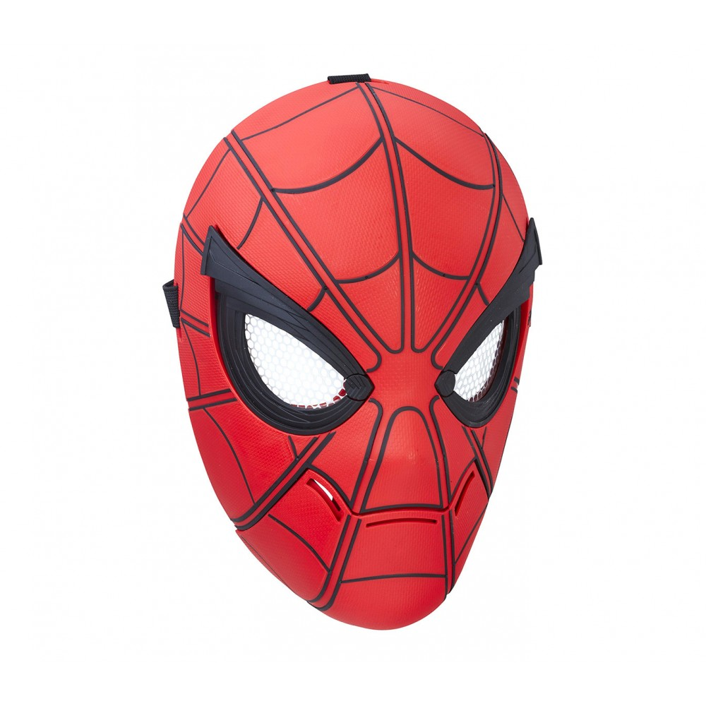 Marvel Spiderman maschera deluxe 329694 Sight di Homecoming con occhi mobili