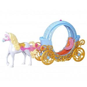 Disney B6314 Cenerentola Magica Carrozza trasformabile in zucca con accessori
