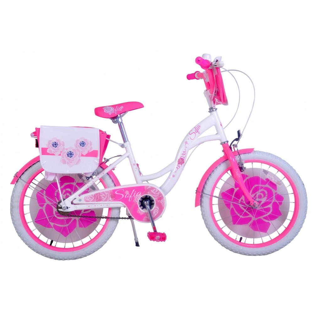 Bicicletta bambina misura 24 SOFIA telaio acciaio a sfera età 9 - 13 anni