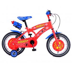 Bicicletta SPEEDY baby taglia 16 bici per bambini età 4 - 7 anni con borraccia