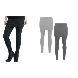 Leggings con gonna SKEGGINGS leggins taglia unica fuseaux