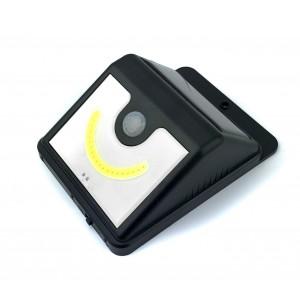 Lampada led energia solare per esterni con sensore di movimento e crepuscolare