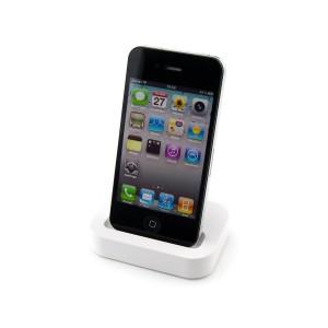 Image of Base ricarica caricabatteria dati compatibile iphone 3/3G e 4/4S station 30 pin 8435524507889