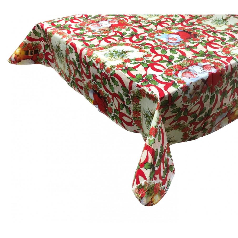 WH Nataluna Tovaglia Antimacchia 479032 impermeabile natalizia in PVC 120x240cm
