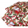 479032 WH Nataluna Tovaglia Antimacchia IMpermeabile natalizia in PVC 120x240cm