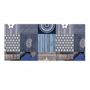 dc home andalusia 385 7142 Tovaglia in pvc anti graffio 140x225 cm