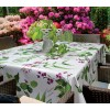 d-c-home Erbario bianca 385-7144 Tovaglia in pvc di alta qualità 140x275 cm