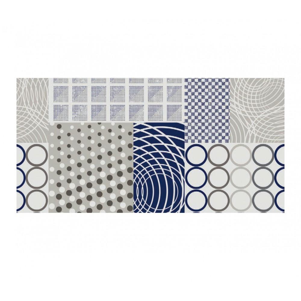 d-c-home Figuras Planas 385-7176 Tovaglia in pvc di alta qualità 140x140 cm