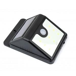 Lampada 8 led energia solare SUPER BRIGHT sensore di movimento e crepuscolare