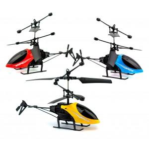 Mini Elicottero con led Predator radiocomandato ad infrarossi a doppia elica
