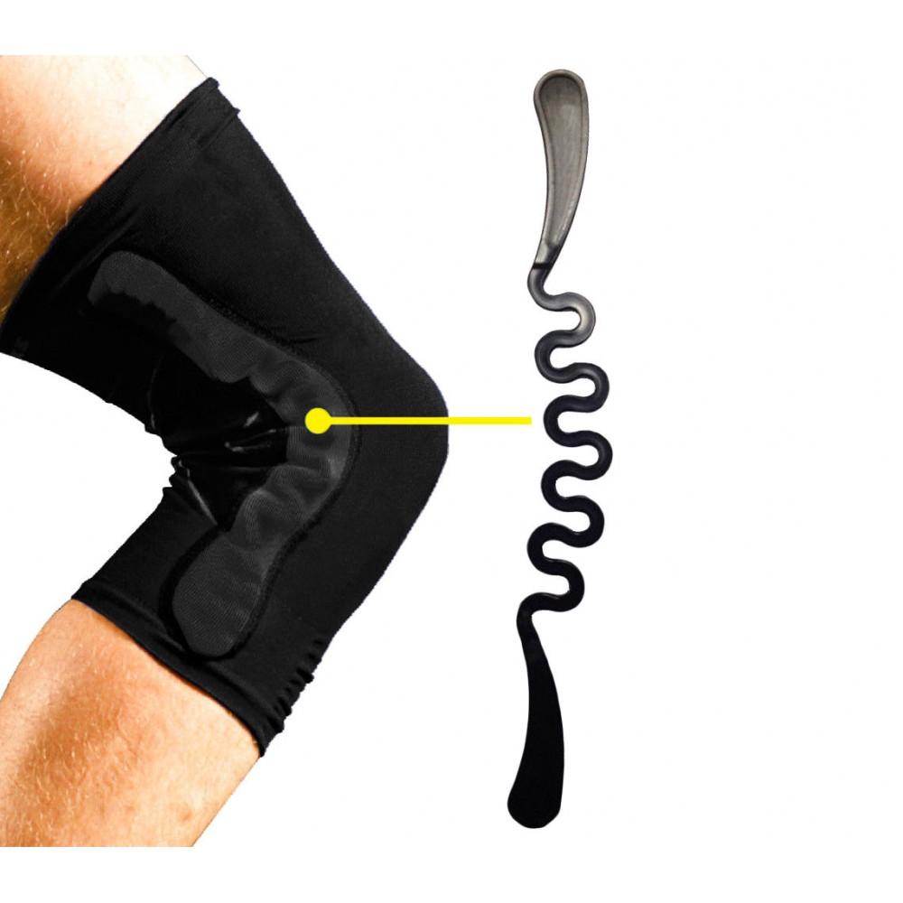 Power Knee Fascia elastica tutore ginocchio in neoprene con sistema a molle