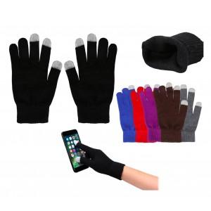 iGloves Guanti in lana per smartphones con sistema capacitativo per touchscreen