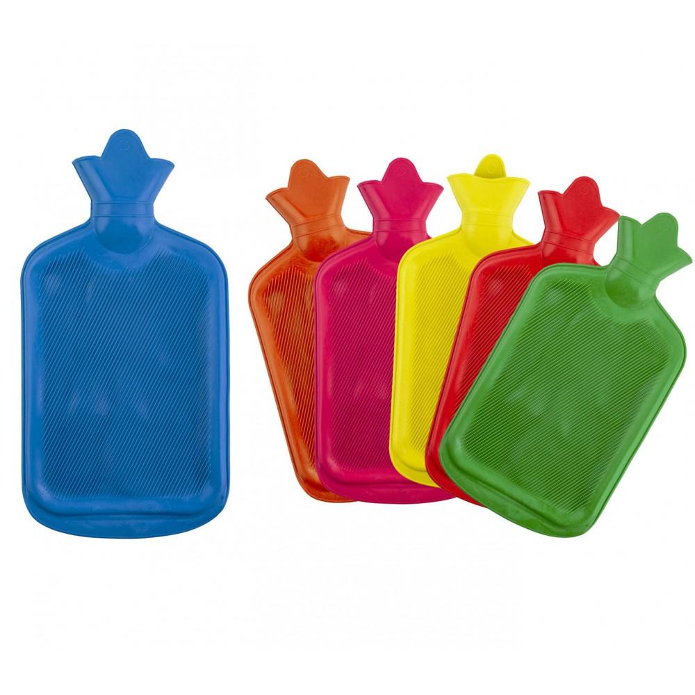 Borsa acqua calda WELKHOME in gomma 382673 con tappo ermetico 2 litri