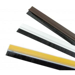 1400 Paraspifferi adesivi con spazzola  in tre colori 100x4.5 cm anti insetto