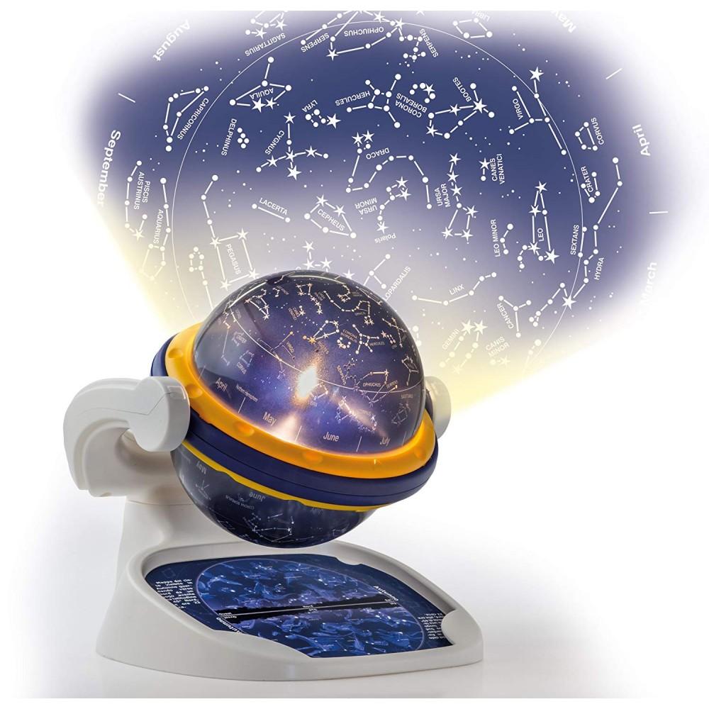 Il Planetario CLEMENTONI 462776 Proiettore luminoso della volta celeste