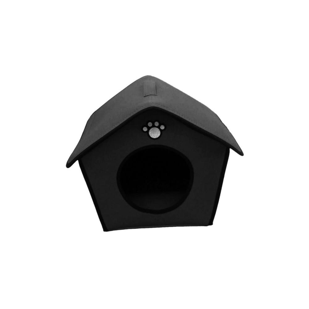 Cuccia a forma di casetta per cani diversi colori e misure