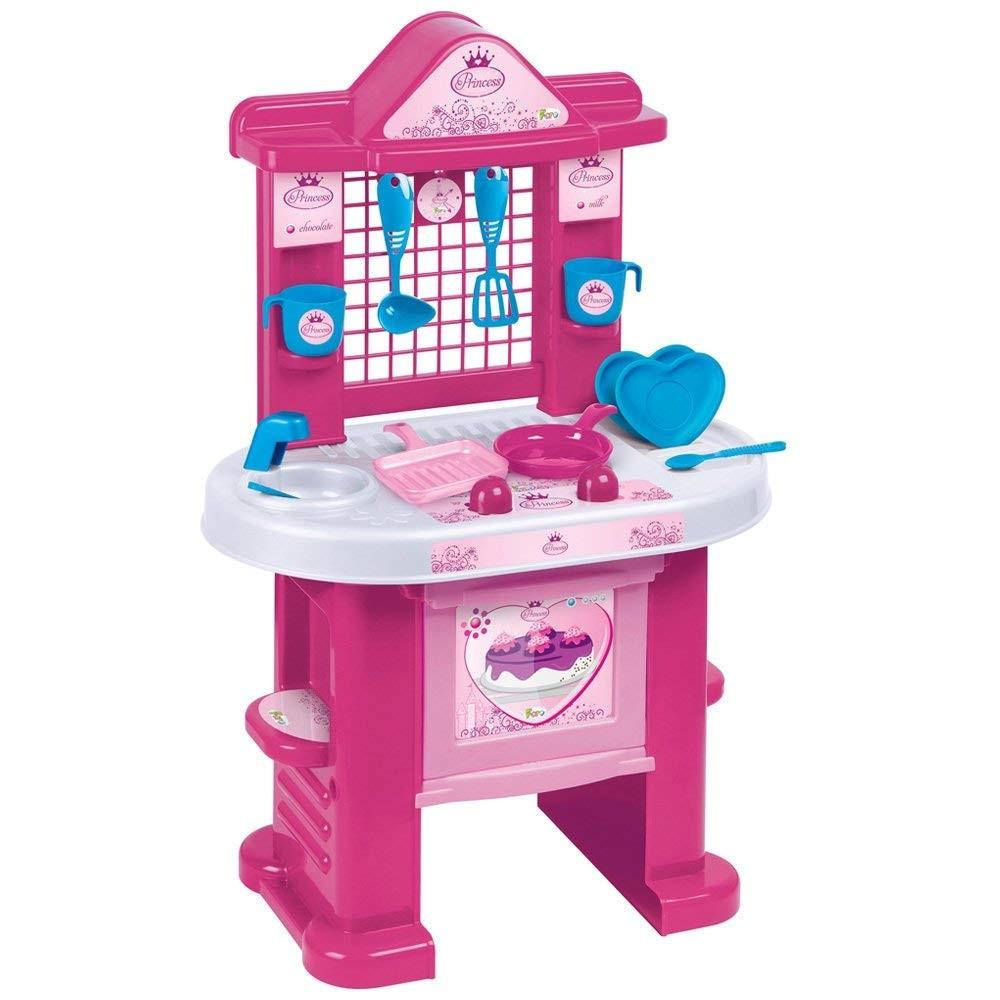 Cucina My Princess ChildKing playset 414408 con 10 utensili H72 cm da assemblare