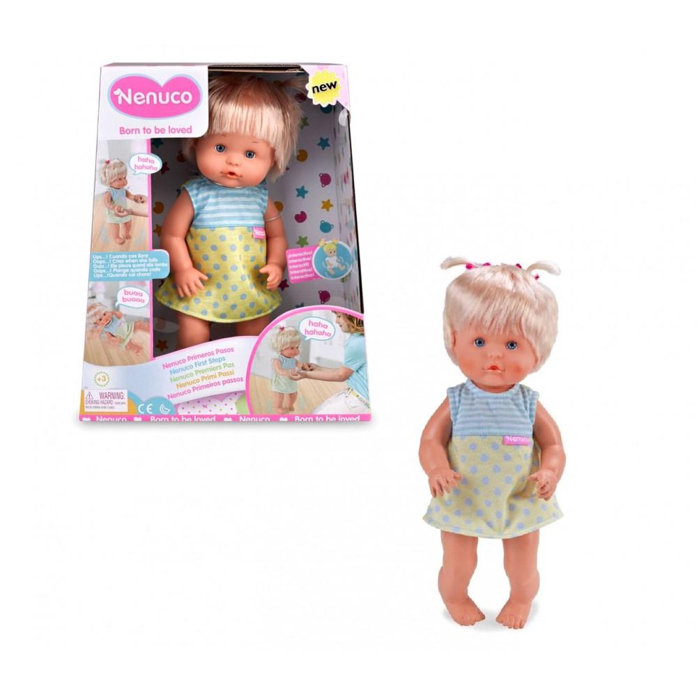 Famosa Nenuco bambola 714146 primi passi parla e cammina come un vero bambino