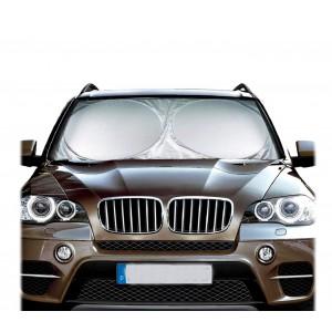 800240 Parasole da auto per parabrezza 150x70cm anti raggi uv e calore portatile