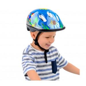 Caschetto HTP DESIGN per bambini NICOLA MV6 2 con regolazione semplice
