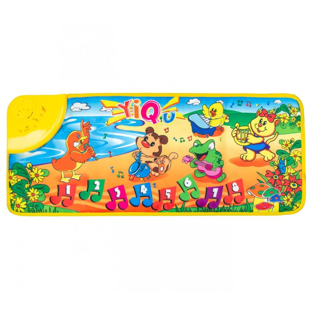 Il tappetino Pianino 102193 tappeto gioco musicale per bambini 71x29cm ANIMALI