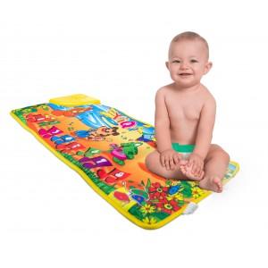102193 Il tappetino Pianino tappeto gioco musicale per bambini 71x29cm