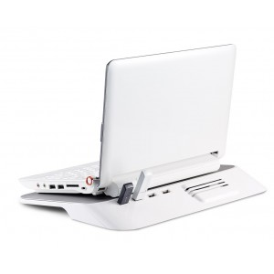Supporto notebook 15 pollici CHOIIX C HL 02  WP  con hub usb a 4 entrate