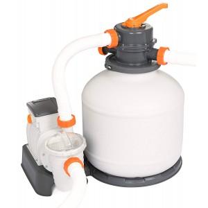 Pompa di filtraggio BESTWAY 58497 a sabbia per piscina flowclear 5.678 l/h