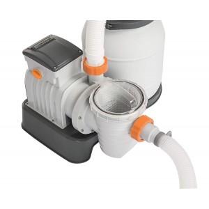 Pompa di filtraggio BESTWAY 58495 a sabbia per piscina flowclear 3.785 l/h