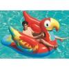 Cavalcabile BESTWAY 41127 a forma di pappagallo gonfiabile cm.230x180