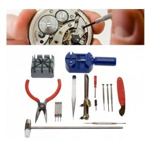 Image of Kit riparazione orologio 16 pz cassa maglia batteria 8012438790622