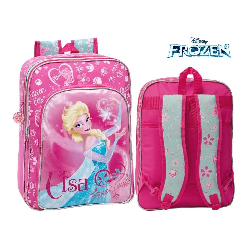 Zaino a spalla scuola e tempo libero Elsa (Frozen), Disney 33 x 42 x 20 cm