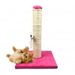 Tiragraffi Nobleza 027989 CatSpot 25x25x35cm con colonna in SISAL in tre colori