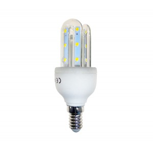 Lampadina STARKEN 3 Watt led tre tubi GLED1502 Luce calda 2900k E14 30000 ore