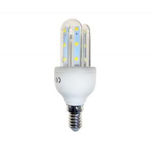Lampadina STARKEN 3 Watt led tre tubi GLED1503 Luce naturale 4200k E14 30000 ore