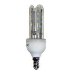 Lampadina STARKEN led tre tubi GLED1511 7 Watt Luce naturale 4200k E14 30000 ore
