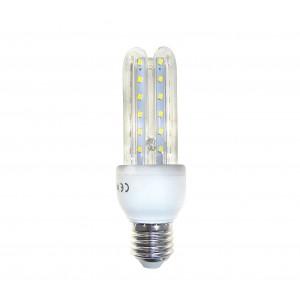 Lampadina STARKEN led tre tubi GLED1512 7 Watt Luce naturale 4200k E27 30000 ore