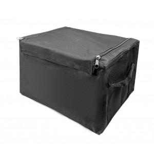 BF318 Organizer per auto portabagagli con zip e struttura in metallo piegevole