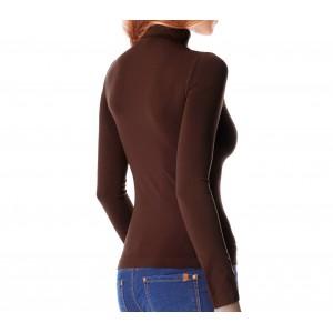 VKA22 Pack 5 maglie a collo alto termiche con interno felpato ass. UMA