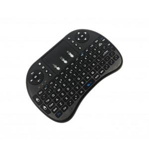 Layout Italiano Mini Tastiera Senza Fili con Touchpad per Smart TV, Android IOS