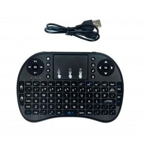 Mini Tastiera Qwerty Senza Fili con Touchpad per Smart TV, Android IOS 2.4 gHz