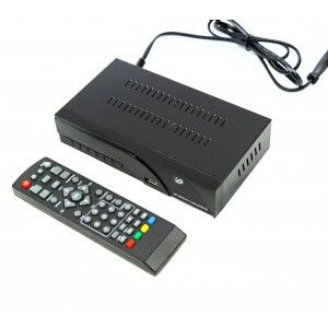 Decoder DVB T2 FULL HD HD 8943 con sistema PVR uscita scart e HDMI