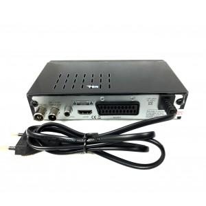 Decoder DVT 2 FULL HD HD 332 con sistema PVR uscita scart e HDMI