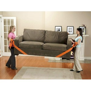 Cinghie da sollevamento a due persone per oggetti pesanti ideale per trasloco