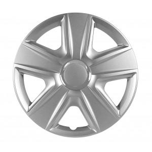 """Set di 4 copri cerchi 15"""" in plastica XONE ABS CC598 mod. ESPIRIT universali"""