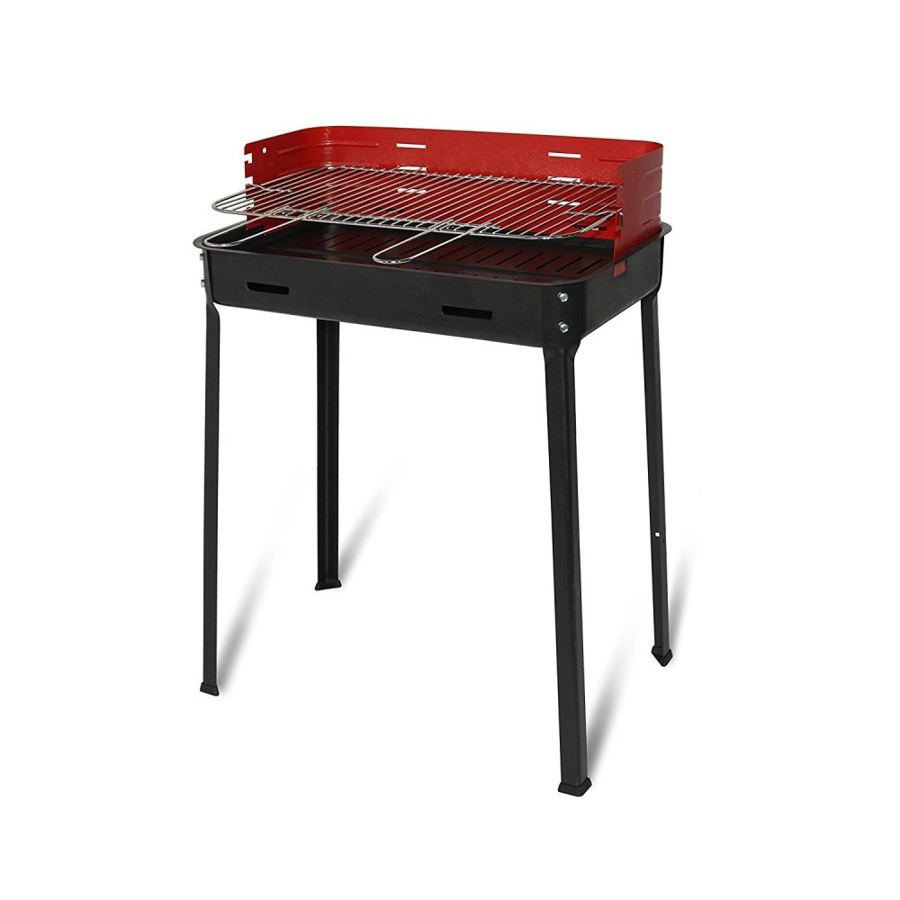 503b Artigian Ferro Barbecue FLAVIA a carbonella 35x50x80h cm in metallo